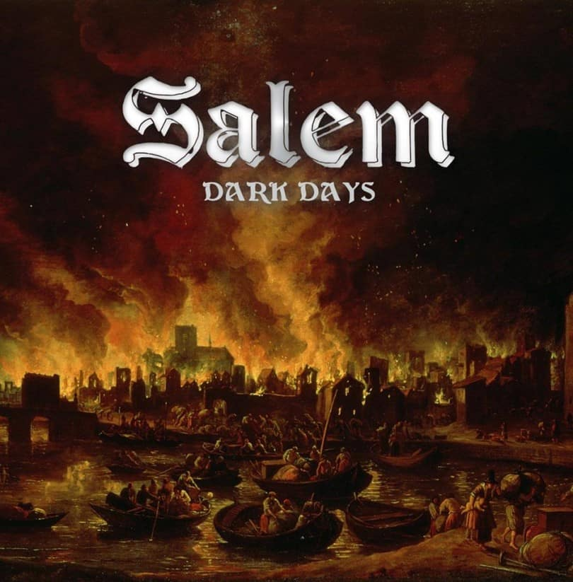 Salem Dark Days Album Review-Decibel Geek, Dark Days Album Cover