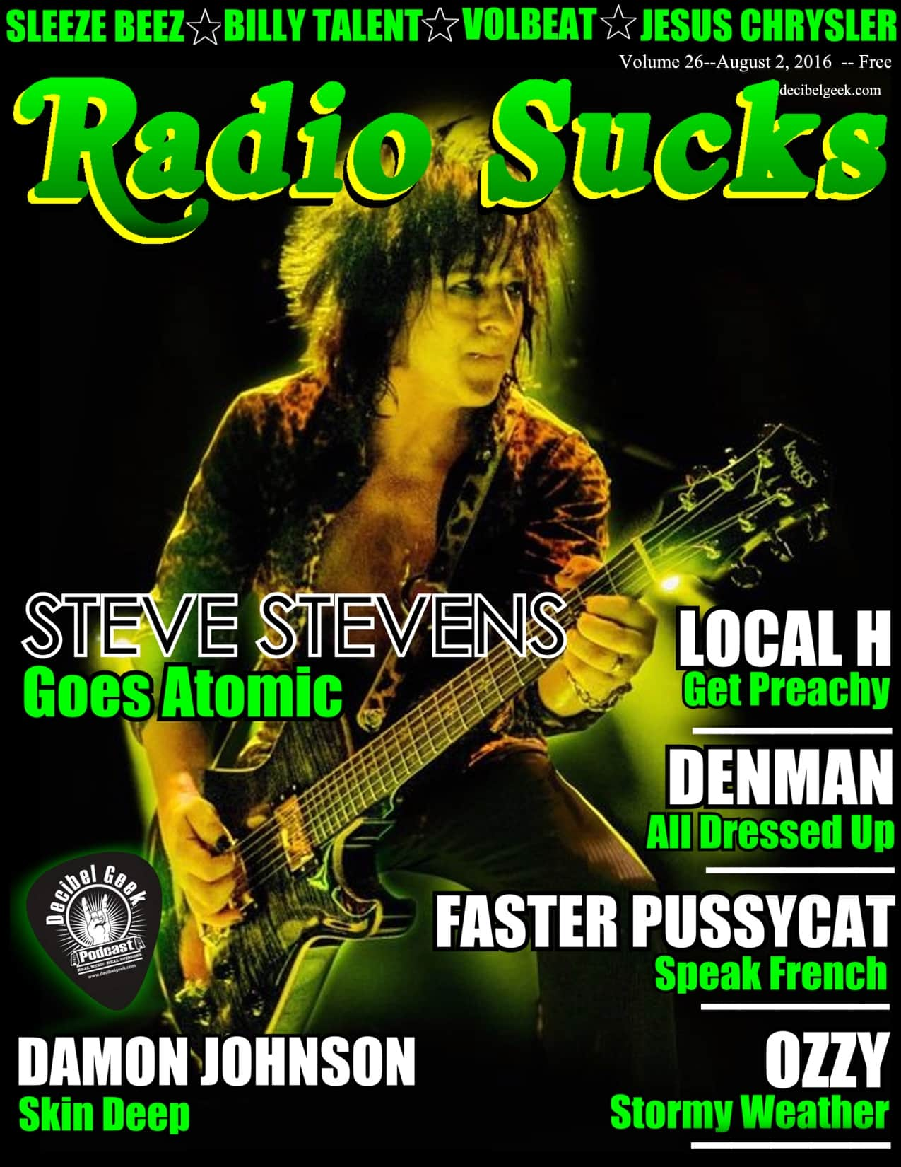 Radio Sucks Radio Show volume 26 decibel geek podcast episode 250