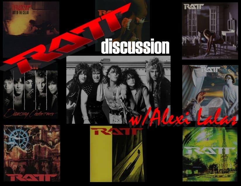 RATT Discussion with Alexi Lalas decibel geek podcast