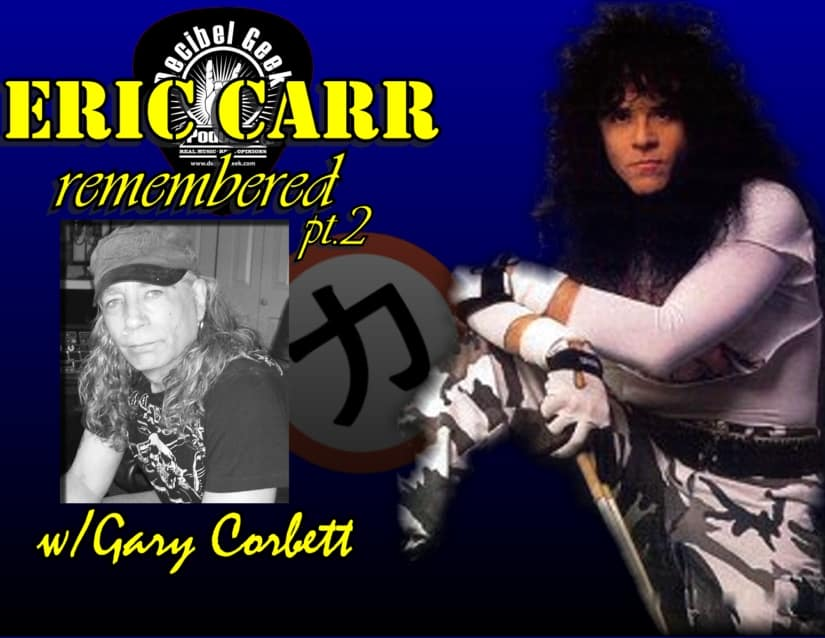 Eric Carr Remembered Pt2