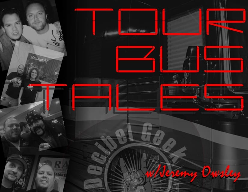 tour bus tales jeremy owsley decibel geek podcast