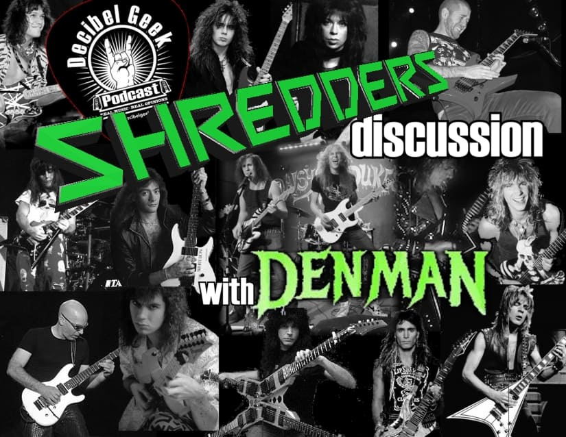 Shredders Discussion with Denman