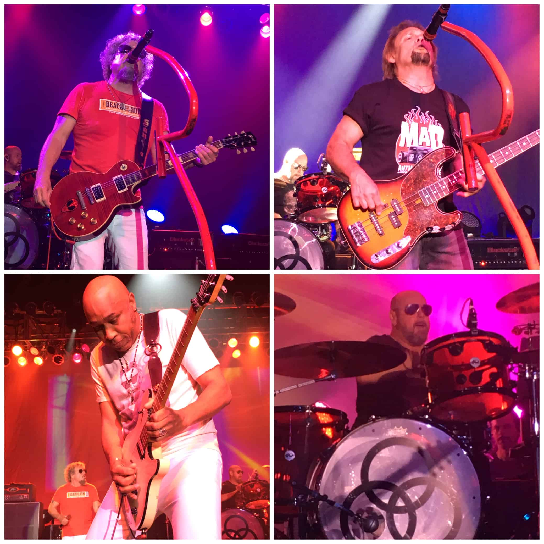 Sammy Hagar and The Circle Live in Cleveland