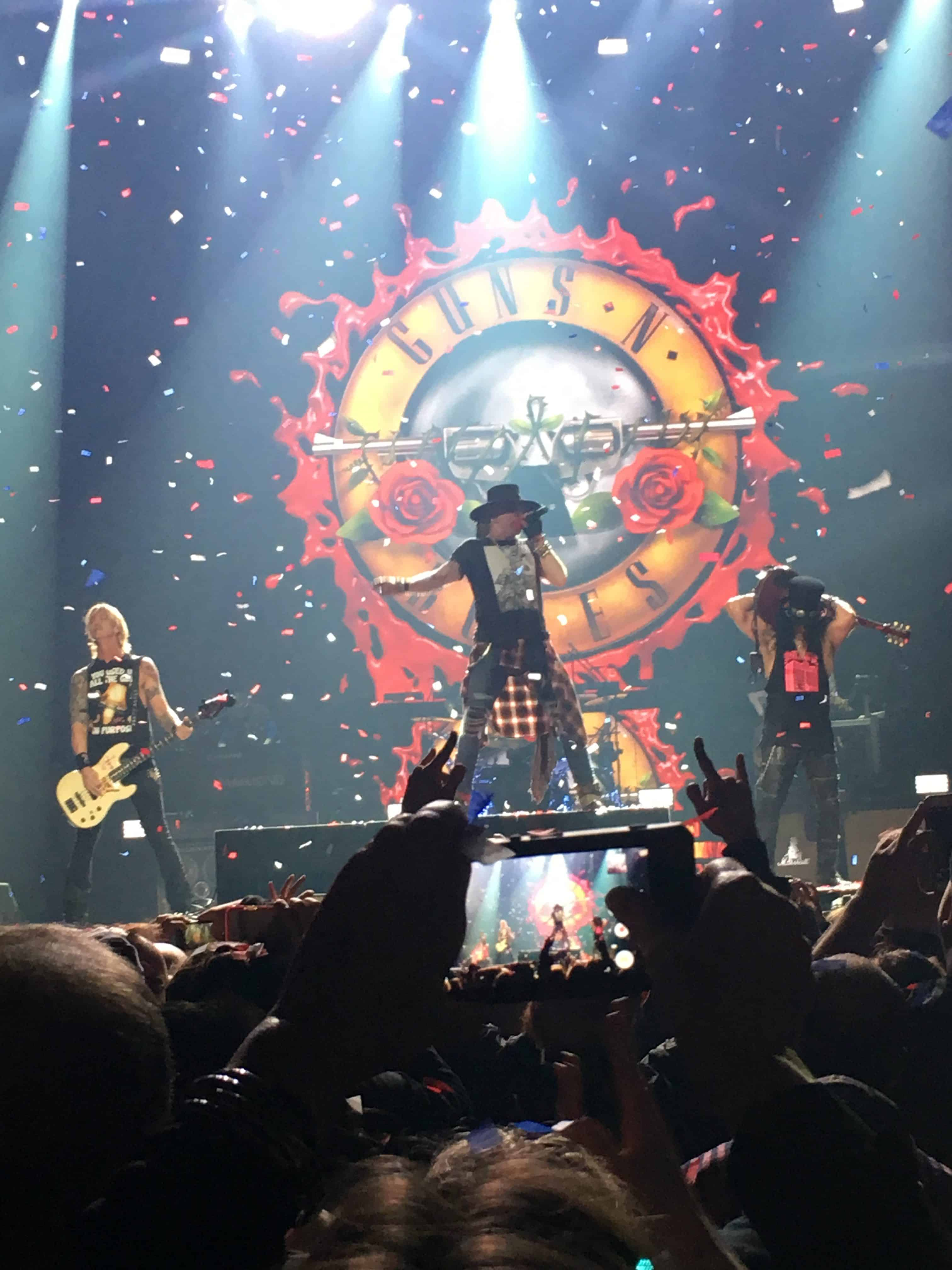 Guns n' Roses Axl Slash Duff