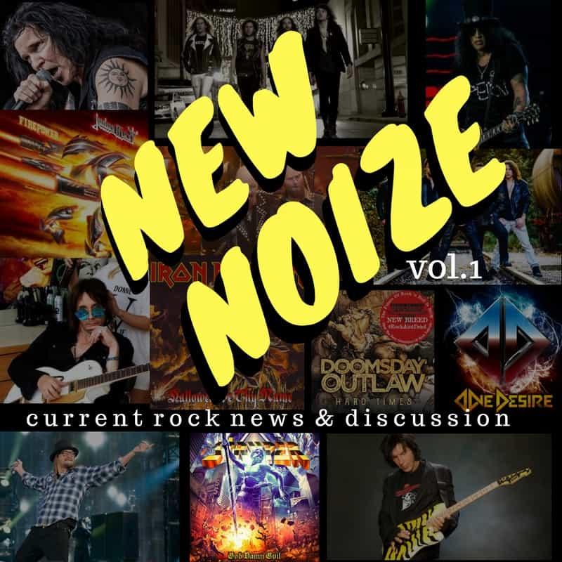 new noize, decibel geek, podcast, rock, metal, loud, frontiers records,