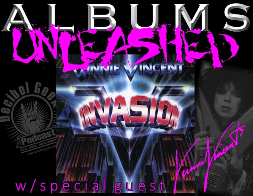 vinnie vincent invasion albums unleashed