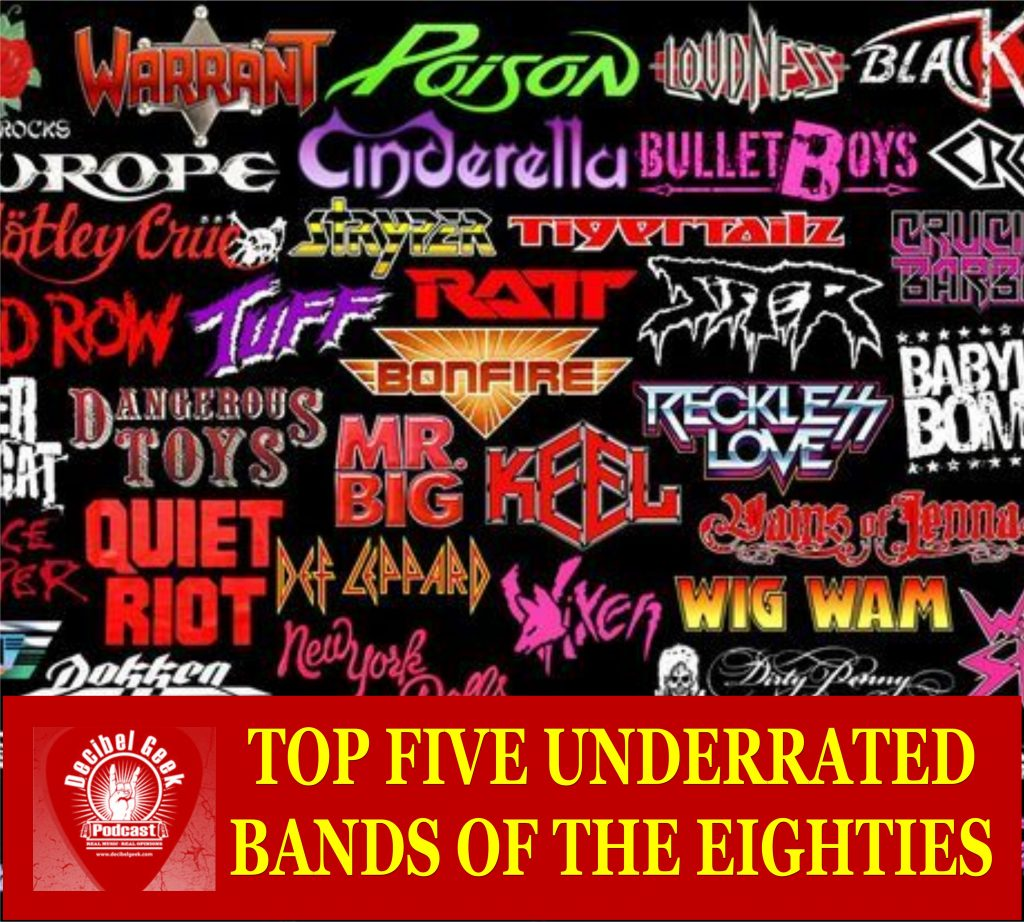 Underrated Bands of the Eighties
