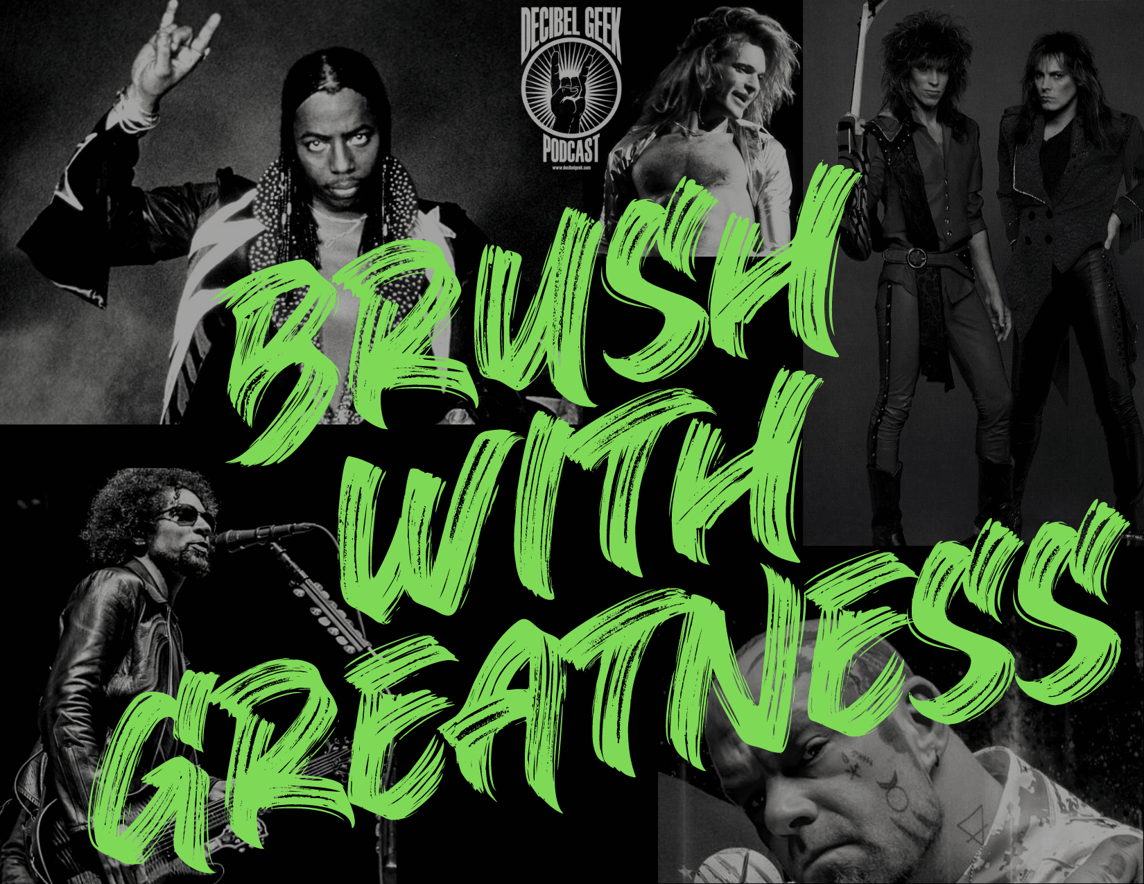 Brush with Greatness, Decibel Geek, Dokken, Rick James, David Lee Roth, Five Finger Death Punch, rock, metal