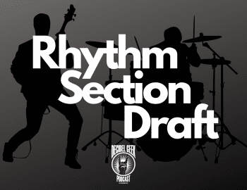 Rhythm section draft, decibel geek, podcast, drums, bass, rock, metal, music