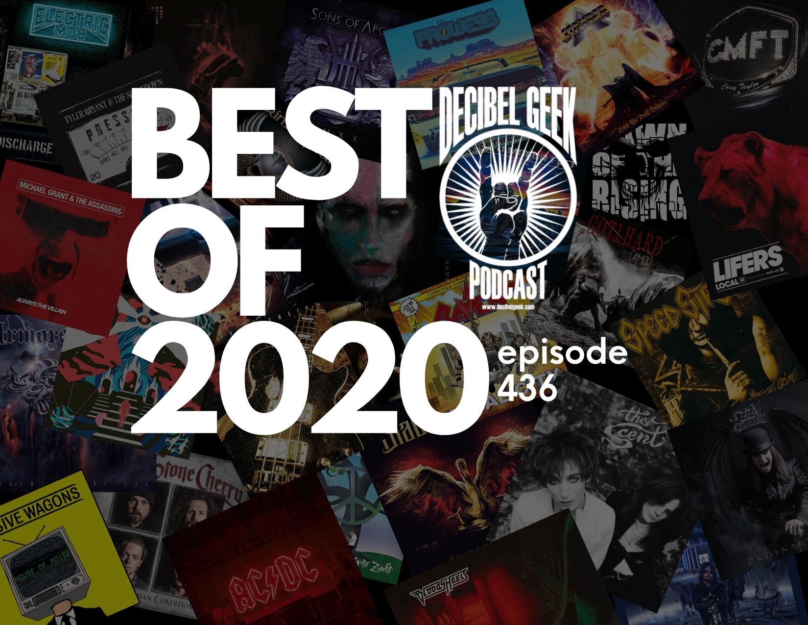 Best of 2020 rock metal music