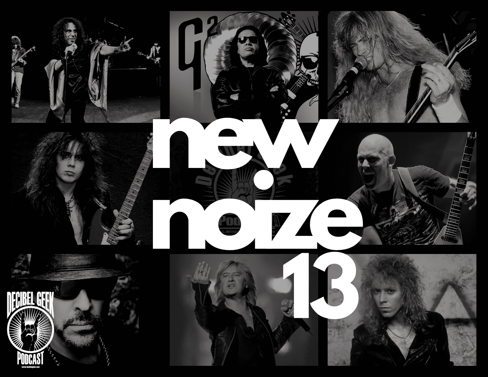 new noize, metallica, kiss, megadeth, david lee roth, queensryche, dokken, rock, metal, music