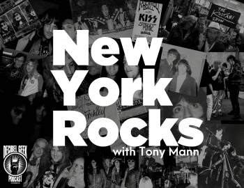 New York Rocks, Tony Mann, KISS, Ramones, Bowie, New York Dolls, rock,