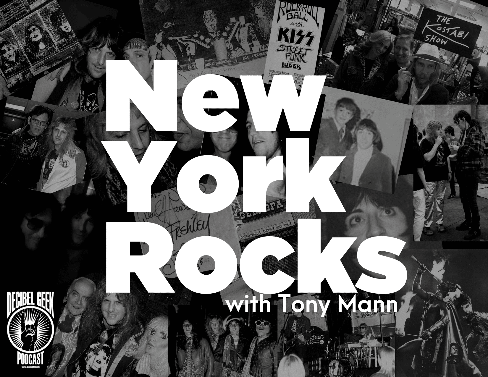 New York Rocks, Tony Mann, KISS, Ramones, Bowie, New York Dolls, rock,