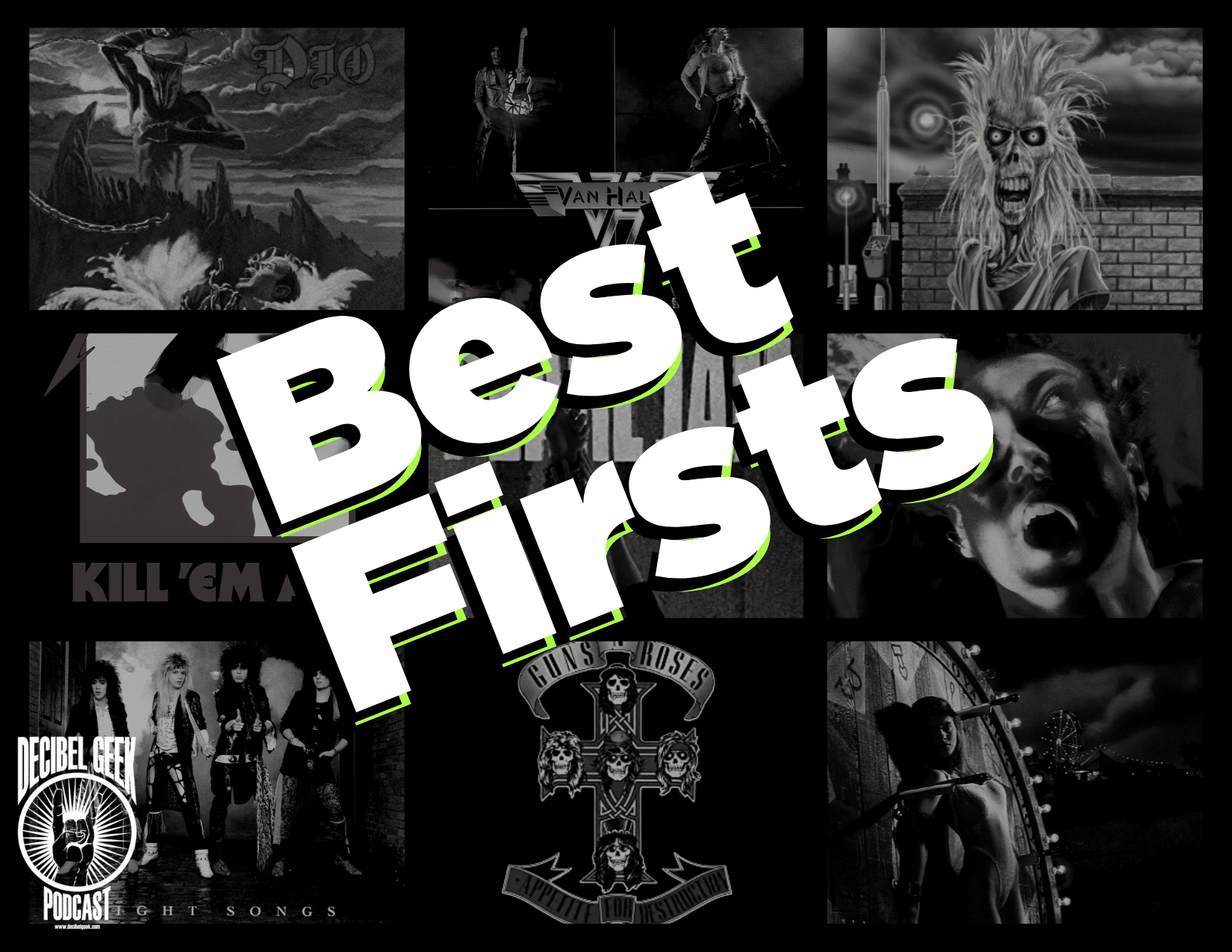 best firsts, debut albums, guns n roses, iron maiden, metallica, alice in chains, bulletboys, cinderella, slaughter, rock, metal