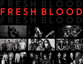 fresh blood, decibel geek, podcast, rock, metal, new music
