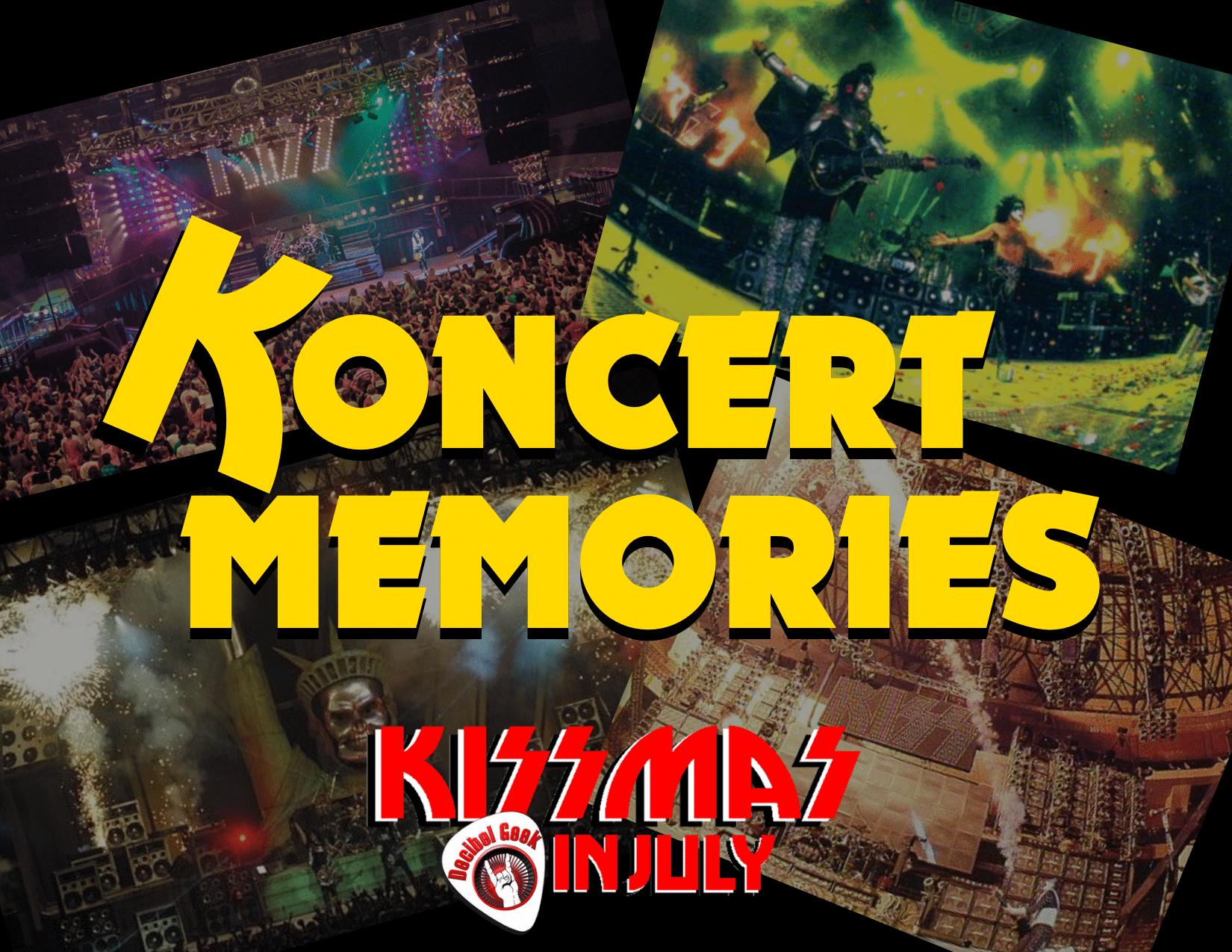 kiss concert memories decibel geek podcast