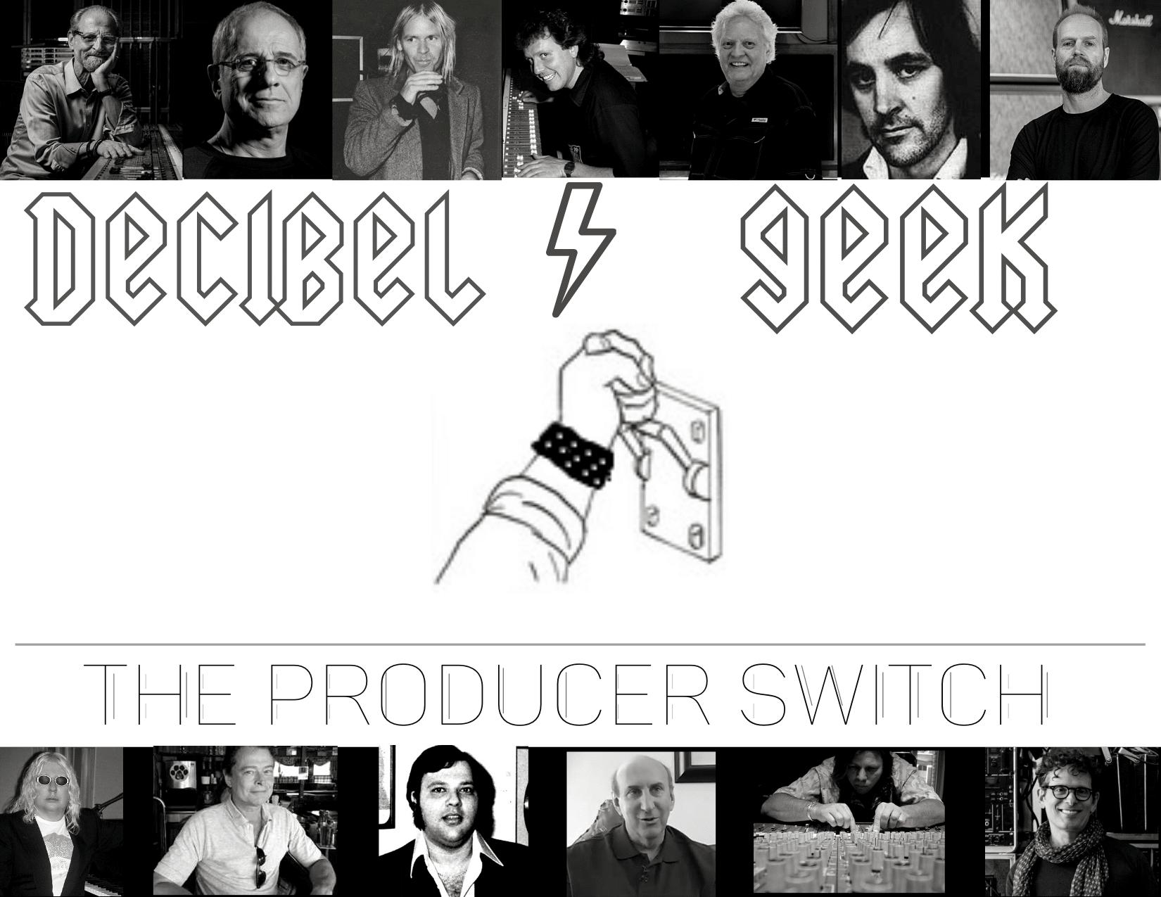 rock, metal, producer switch, decibel geek, podcast