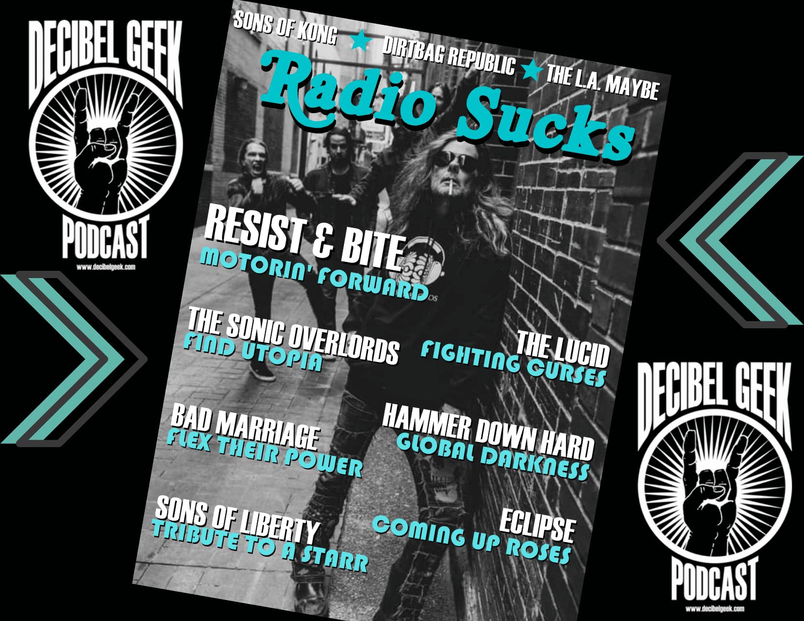 radio sucks, decibel geek, podcast, rock, metal, new